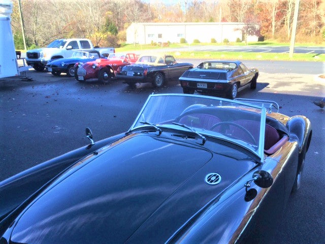 Cars & Coffee at Abingdon Spares!