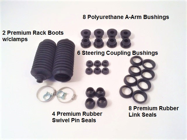 New Suspension Rubber Kits