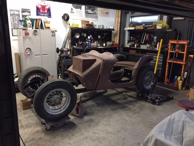MG TC Project from a pile of parts!