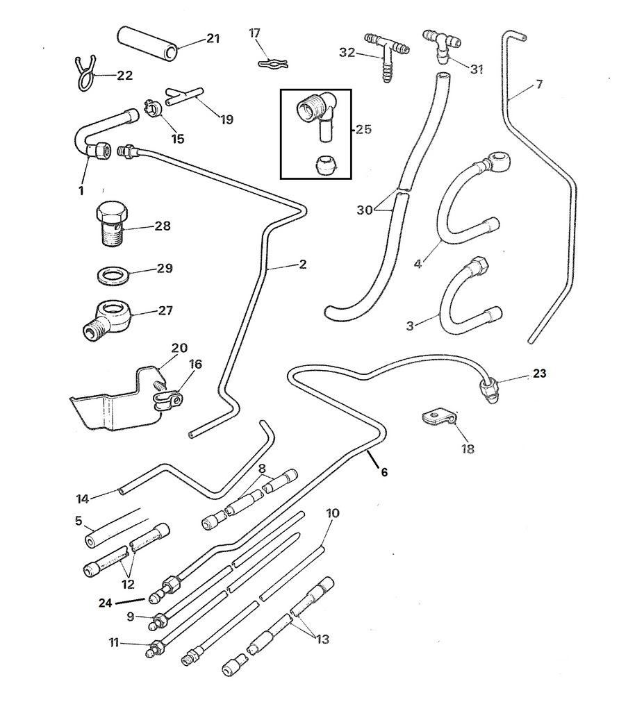 1974 Mgb Fuel Line Diagram Electrical Wiring Diagrams Fuse Box Lines 1962 1970 Abingdon Spares Engine