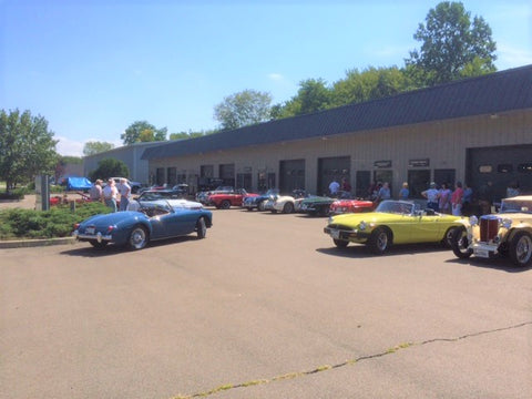 Midsummer Cars & Coffee at Abingdon Spares