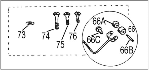 MG T-SERIES CHROME TRIM DIAGRAM