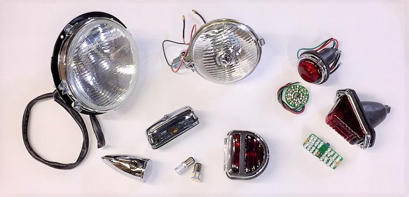 MG T-Type Lighting Parts