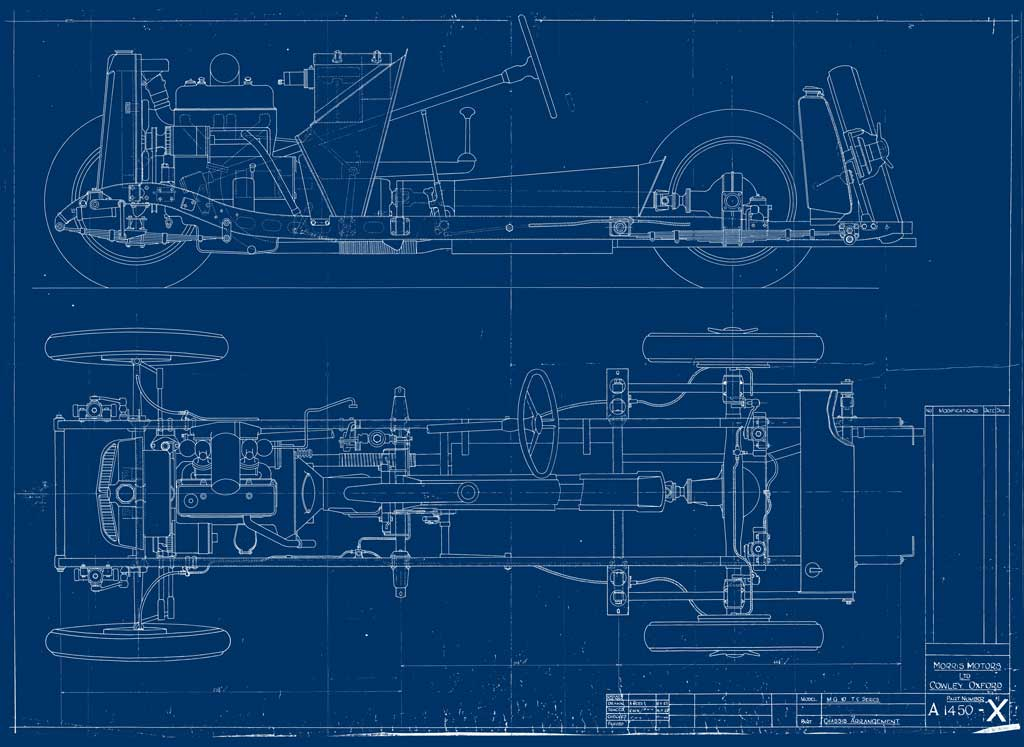 MGT Chassis Blueprint