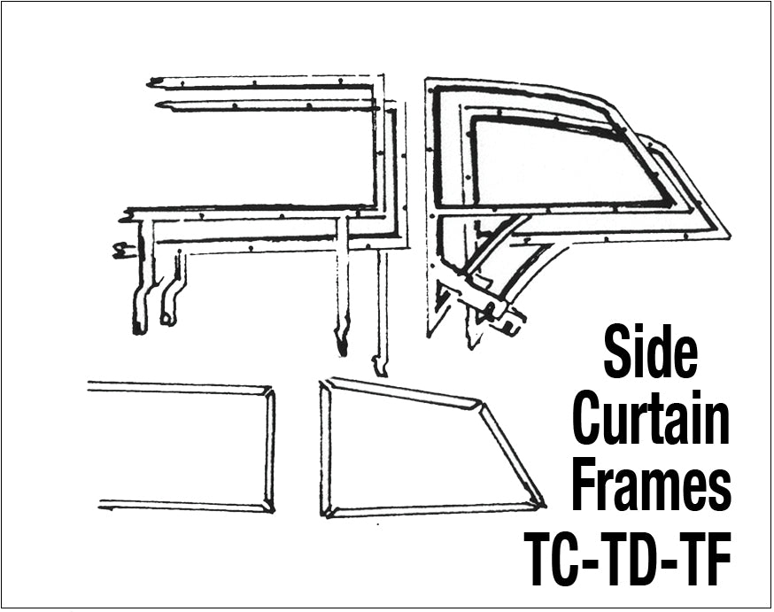 Side Curtain Kits and Frames — Abingdon Spares