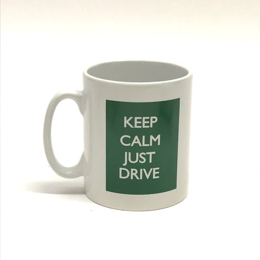 MG Keep Calm Just Drive Mug