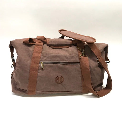 MG Canvas Weekender Travel Bag