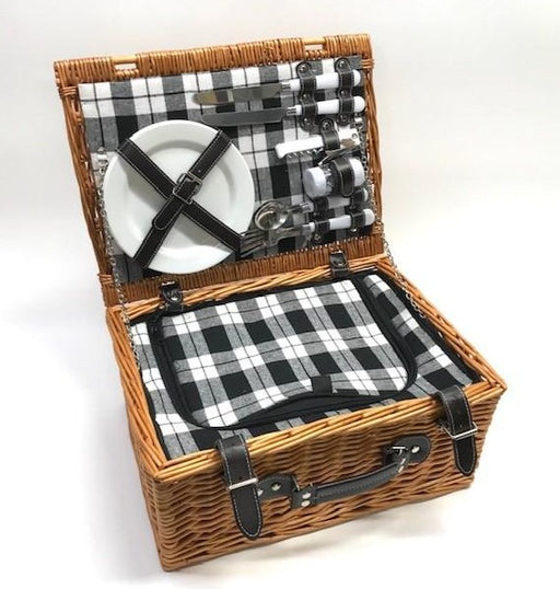 Picnic Basket for Two, with Accessories