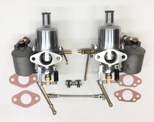 MG TC NEW Carburetor SU 1 and 1/4 Pair