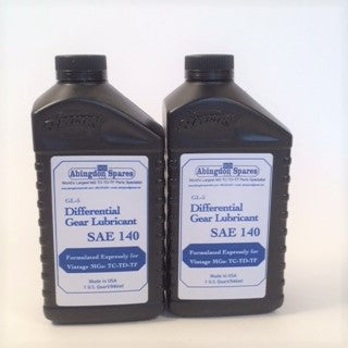 Differential Gear Lube SAE 140 (2 quarts)