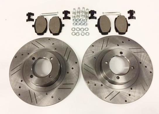 MGB BRAKE KIT, front, stage 1 upgrade