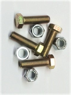 Pivot Bolt Set (4) with nuts