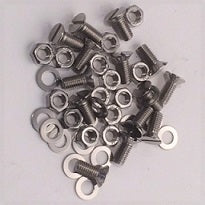 Screw & Nut Set (14), Radiator Shell to Core, TF