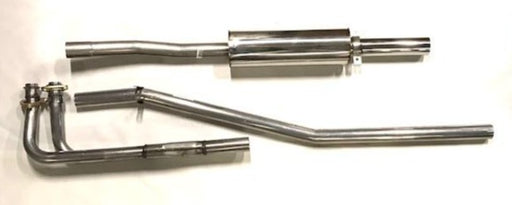 MGB BIG BORE stainless steel exhaust 62-74
