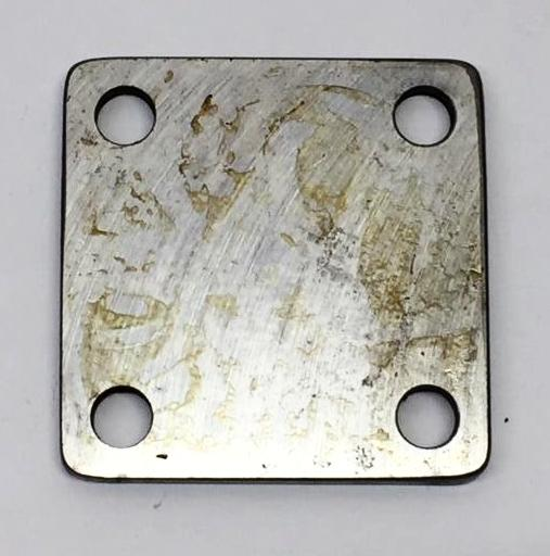 End Cover Plate, Used *