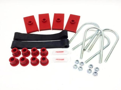 MGB Leaf Spring Mounting Kit, Polyurethane, Tube Axle