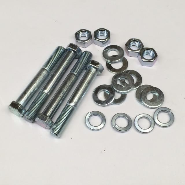 Rear Shock Mounting Kit, MGB, Rubber Bumper