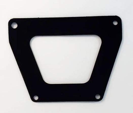 SEAL, right pedal hole plate, MGB
