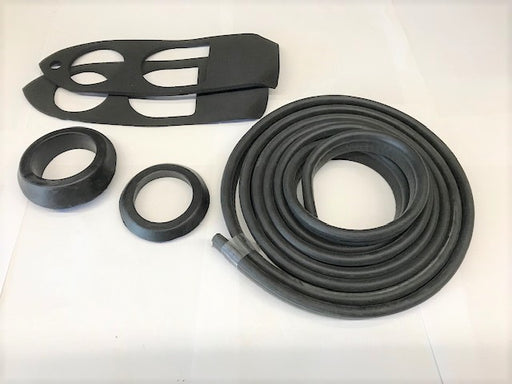 Supplemental Body Rubber Kit - 1977-80 Roadster