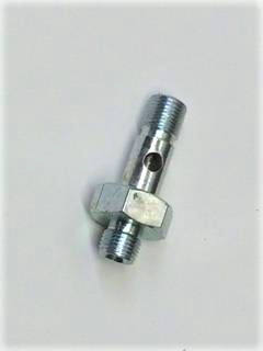 Banjo Bolt with Adaptor, Lower, Oil line block to head, XPAG, XPEG