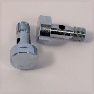 Banjo Bolt, Round head  (2 bolts)