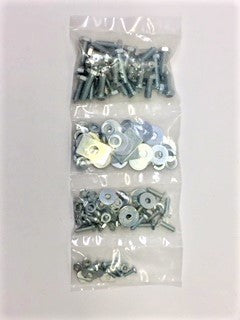 Hardware Kit, bolts & washers for both front fenders, MGB