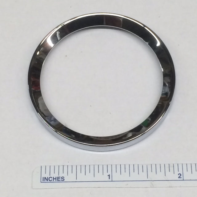 "BEZEL, chrome, MGB 2"" gauges"