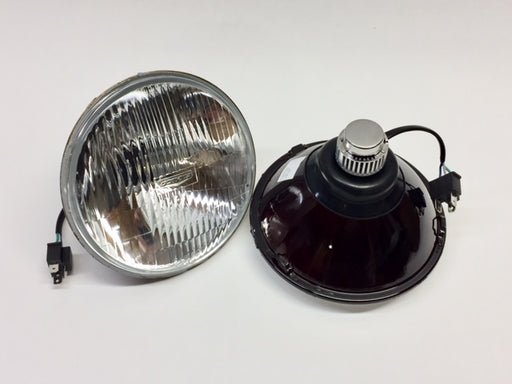 "LED Headlamp Assembly, 7"", pair, Fluted Lens"
