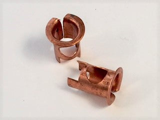 Copper Sockets, Front Bow, Set of 2