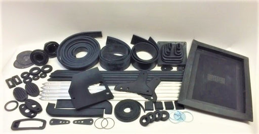 Major Body Rubber Kit, Late MG TD