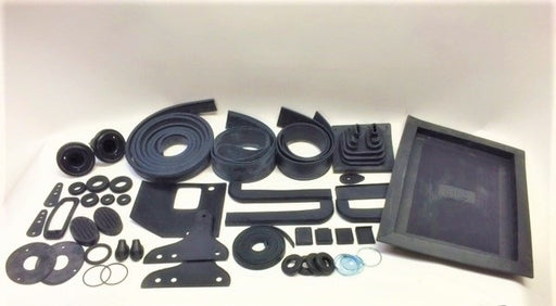 Major Body Rubber Kit, MG TF