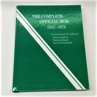 Complete Official MGB 1962-1974 Manual