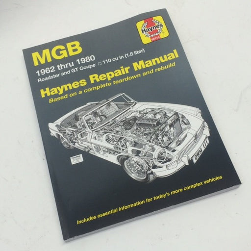 Haynes Repair Manual for MGB 1962-1980