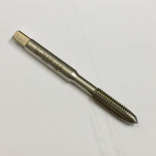 1/4 BSF Tap High Speed Steel