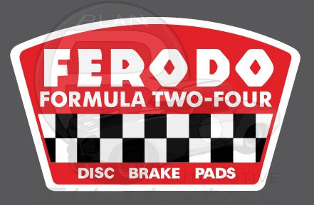 Ferodo Brake Pads Contingency Decal