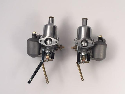 "SU H2 Complete Carburetors, set of 2, 1-1/4"", TD"