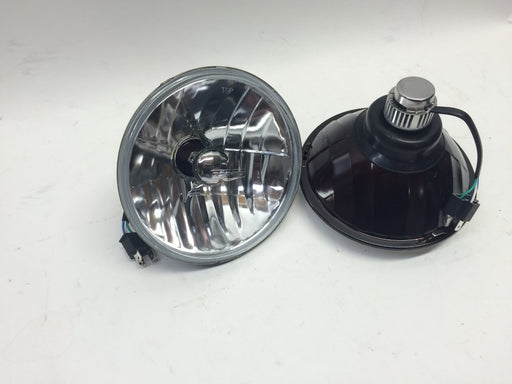 "LED Headlamp Assembly, 7"", Pair, Clear Lens"