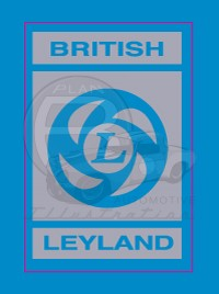 MGB British Leyland Valve Cover Decal 72-80