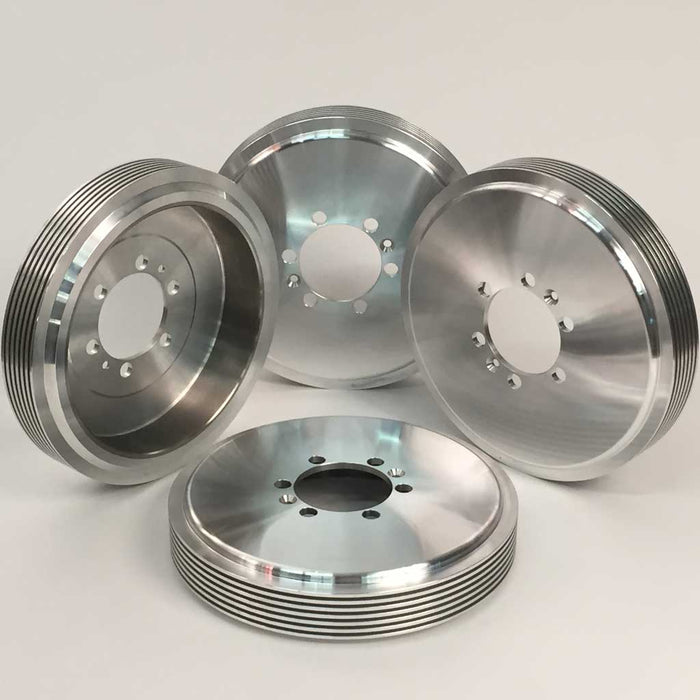 Alfin Aluminum Brake Drum, Set of 4