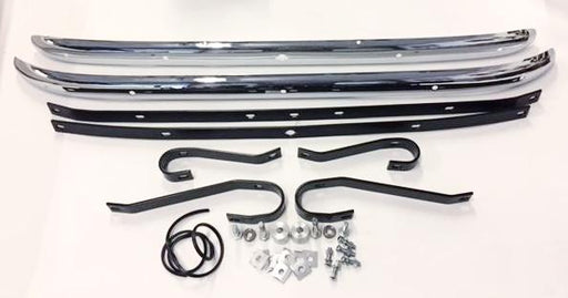 Major Bumper Kit w/brackets, hardware, overriders, and face bars TD