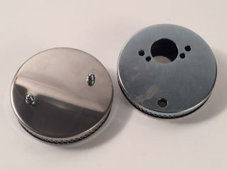 Chrome Air Cleaner, 1-1/2' Pair