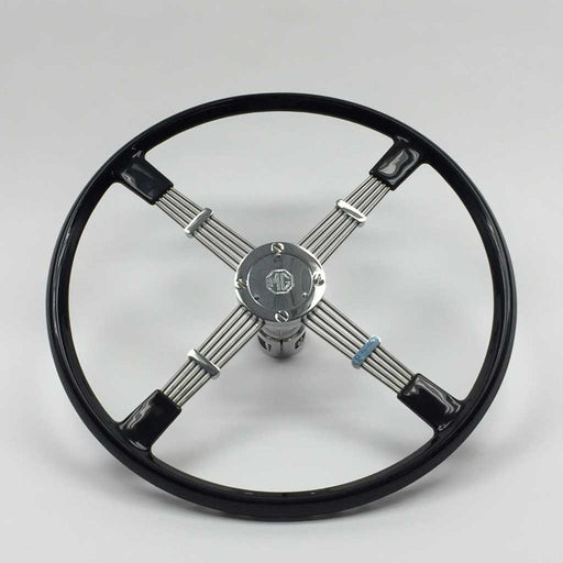 "Brooklands Steering Wheel, 17"", TC"