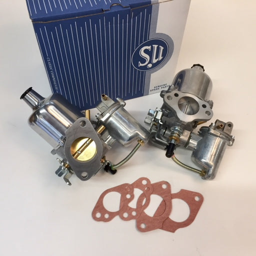 MGB Carburetor Set, Genuine SU, HS4, AUD325 AT