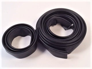 Body Piping, Black, correct, large and small piping