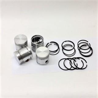 Piston Set, Standard, 1250 cc, Includes Rings