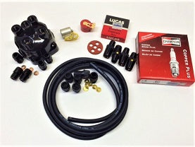 Complete T-Type Tune up Kit, TC, Early TD to engine 22734