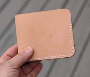 Bifold Wallet - Natural Finish (Discontinued)