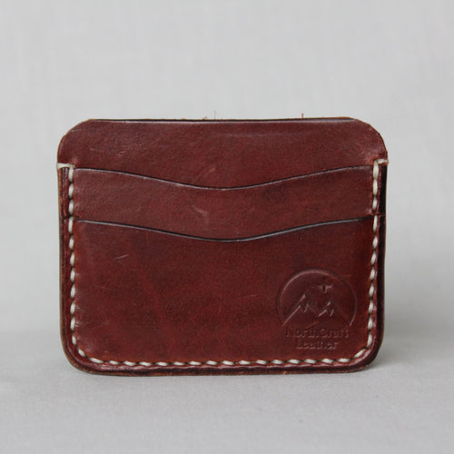 5-Card Wallet - Medium Brown