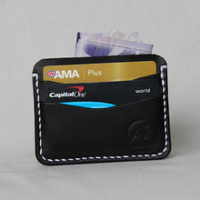 Load image into Gallery viewer, 5- Card Wallet- Black