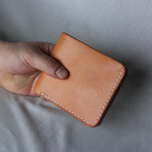 Load image into Gallery viewer, Bifold Wallet - Russet Brown